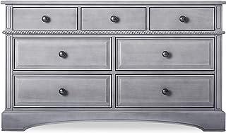 Evolur Double Drawers Dresser, Storm Grey