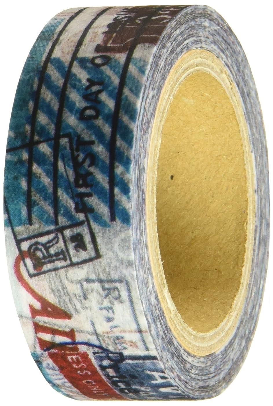 Roundtop Designer's Washi Masking Tape 15mm x 10m, Syoukei, Deadline (MTW-1307-004)