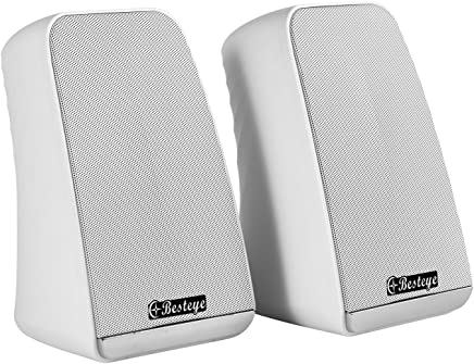 Besteye BE-829 USB Speakers for Computer Laptop Notebook Plug and Play with Enhanced Bass