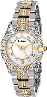 Women's 30mm Dress Two-Tone Crystal Watch