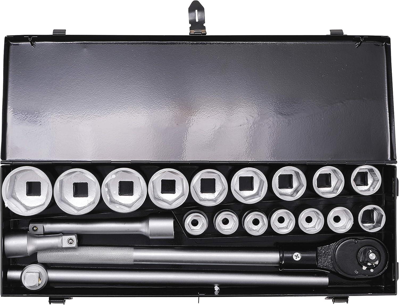 20 piezas Kraftmann 15113   19-50 mm entrada 20 mm 3//4 Juego de llaves de vaso