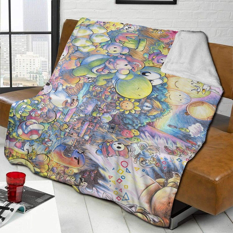 Yoshi Super Smash Bros Mario Bl Novelty Blanket 爆安 Gift 2020春夏新作 Merchandise