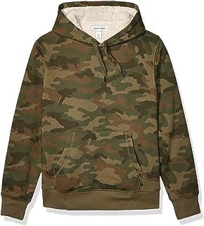 Men's Sherpa Lined Pullover Hoodie Sweatshirt