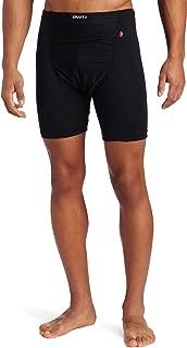Men's Active Wind Stopper Base Layer Gunde Short, Black, Large