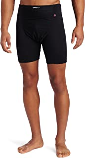 Craft Sportswear Men's Active Wind Stopper Base Layer Gunde Short, Black, Medium