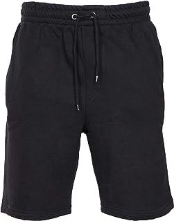 NOROZE Mens Fleece Shorts Training Joggers Lounge Pants Jersey Pyjama Short Trouser