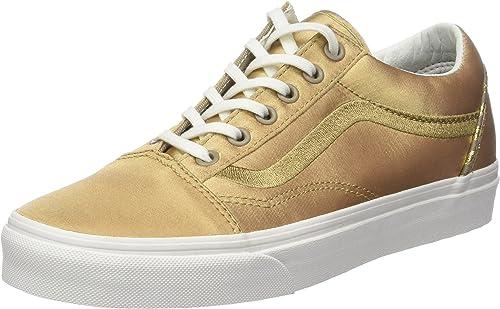 Vans Old Skool DX, Sneaker Donna, Oro (California Souvenir/Greige ...