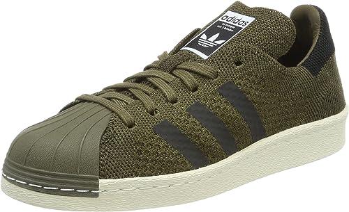 adidas Superstar 80s Primeknit, Sneakers Basses Mixte Adulte, Vert ...
