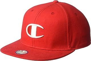 Men's Baseball Snapback Hat with Big C Logo
