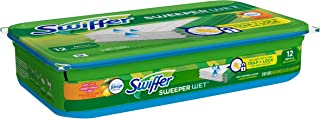 Swiffer Wet Refills, with Febreze Citrus and Zest, 12 pads (Packaging may vary)