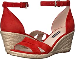 002447e9be3 Fiery Red. 235. Nine West. Jabrina Espadrille Wedge Sandal