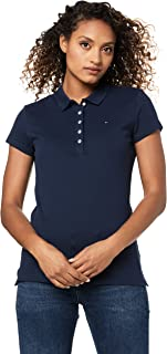 TOMMY HILFIGER Women's New Chiara Pique Short Sleeve Polo