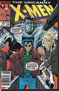 UNCANNY X-MEN #245 Marvel comic book 6 1989