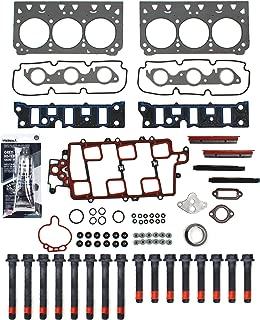 New CHG0040HBSI Cylinder Head Gasket Set, RTV Gasket Silicone, & Head Bolt Kit for GM 3.8L 3800 231 2nd Design VIN 2 K (Won't fit Supercharged models)