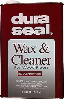 Dura Seal Wax & Cleaner - Coffee Brown - Gallon