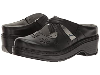 Klogs Footwear Carolina (Black Smooth) Women