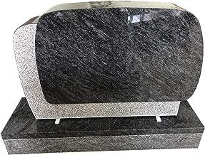 Bahama Blue Granite Upright Monument Gravemarker Headstone Gravestone MN-271