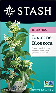 Stash Tea Jasmine Blossom Green Tea, 20 Count