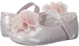 Baby Deer Soft Sole Ballet with Flower (Infant)