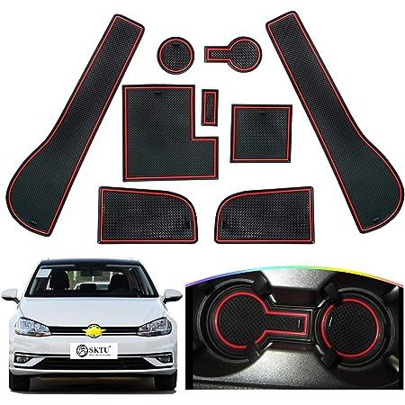 Lfotpp Golf 7 R Gtd Gti Gte Auto Styling Innentür Gummimatten Anti Rutsch Matten White Auto