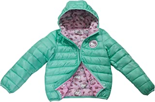 8bdcb4cc4 Sanrio Hello Kitty Toddler/Girls Ultralight Hooded Puffer Jacket, Size  2T-5T &