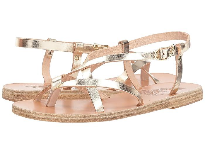 Ancient Greek Sandals  Semele (Platinum Vachetta) Womens Sandals