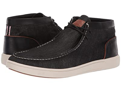 Steve Madden Fizzle (Black Fabric) Men