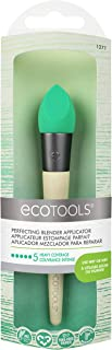 EcoTools Perfecting Blender Applicator, Foam Applicator Brush for Use Wet or Dry, Natural Latex, Recycled Aluminum Ferrules, Recycled Packaging Material