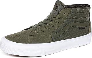 Vans Sk8-mid Gore-Tex Sneakers Uomini Kaki/Grigio - 42 - Sneakers Alte Shoes