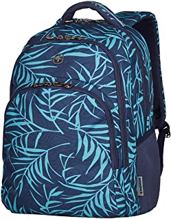 "Wenger 16"" Laptop Backpack with Tablet Pocket, Navy Fern 606474"