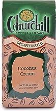 Churchill Coffee Coconut Cream 12 oz - Whole Bean (Decaf)
