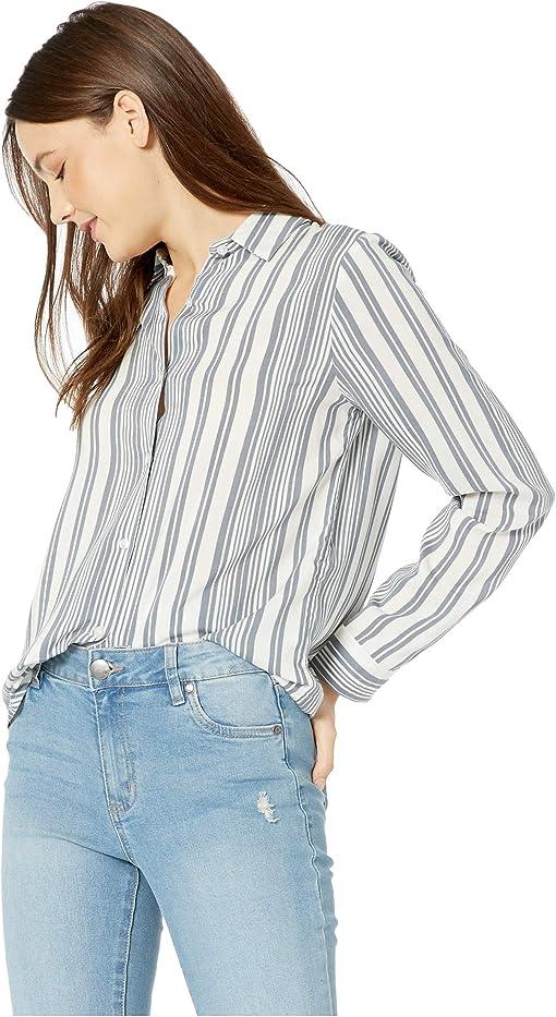 Allie Multi Stripe Sleet