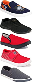 Shoefly Sports Running Shoes/Casual/Sneakers/Loafers Shoes for Men&Boys (Combo-(5)-1219-1221-1140-472-1018)
