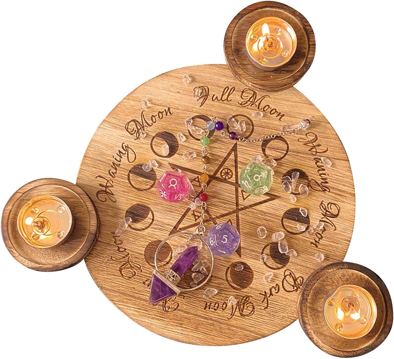Rinme Cute Tarot Candle Holders Classic - Set Brand new Durabl Holder