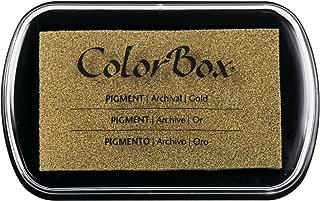 Pigment Ink Pad Color: Metallic Gold