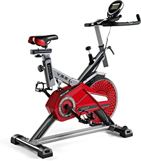 comprar comparacion ECO-DE Bicicleta Spinning Absolut. Uso semiprofesional con pulsómetro, Pantalla LCD y Resistencia Variable. Estabilizadore...