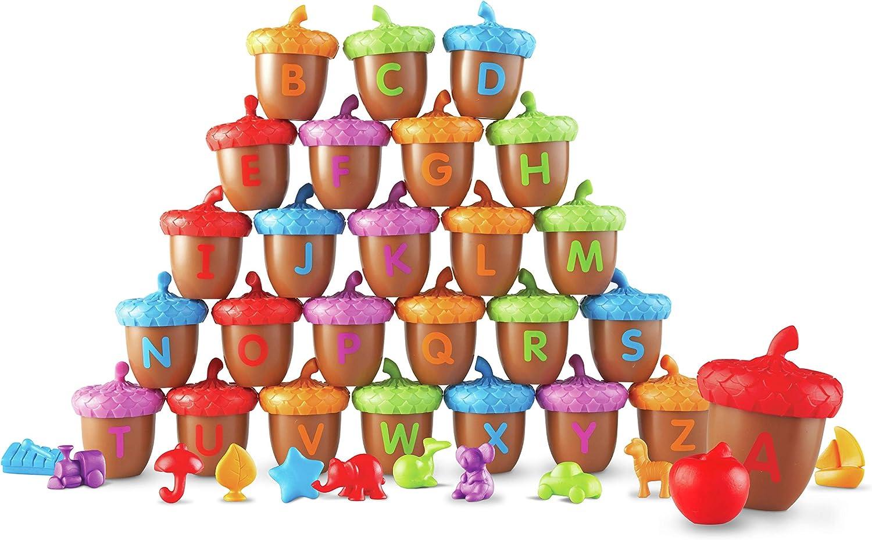Learning Resources Spielset Alphabet-Eicheln B01N6L9NKL | Neuer Stil