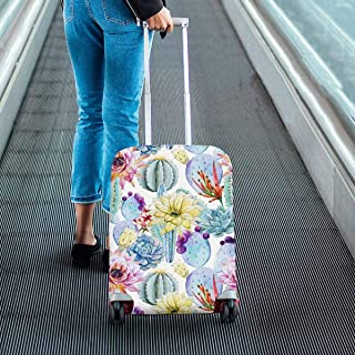 Suitcase Protectors Fit 18-28 Inch Luggage Cactus patterns Print on Dust Proof Luggage Covers