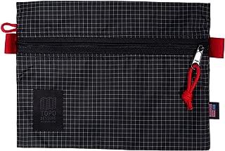 Topo Designs Accessory Bags - Black/white Ripstop - M