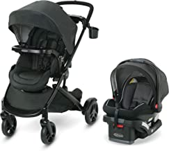 Graco Modes2Grow Travel System | Includes Modes2Grow Stroller and SnugRide SnugLock 35 Infant Car Seat, Tambi