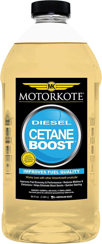 Motorkote MK-50121-06 Diesel Cetane Boost, 64-Ounce, Single