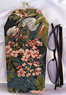Signare GP01-Cat Cat Eyeglass Case Traditional Tapestry