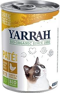 Yarrah Organic Cat Chicken Pate - 400g