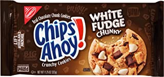 Chips Ahoy! White Fudge Chunky Chocolate Chip Cookies, 11.75 Ounce