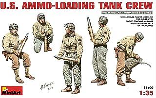 ミニアート 1/35 アメリカ戦車兵 弾薬補給中 5体入 プラモデル