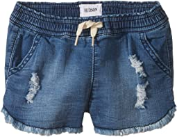 "2 1/2"" Pull-On Shorts - French Terry in Depth Charge (Infant)"