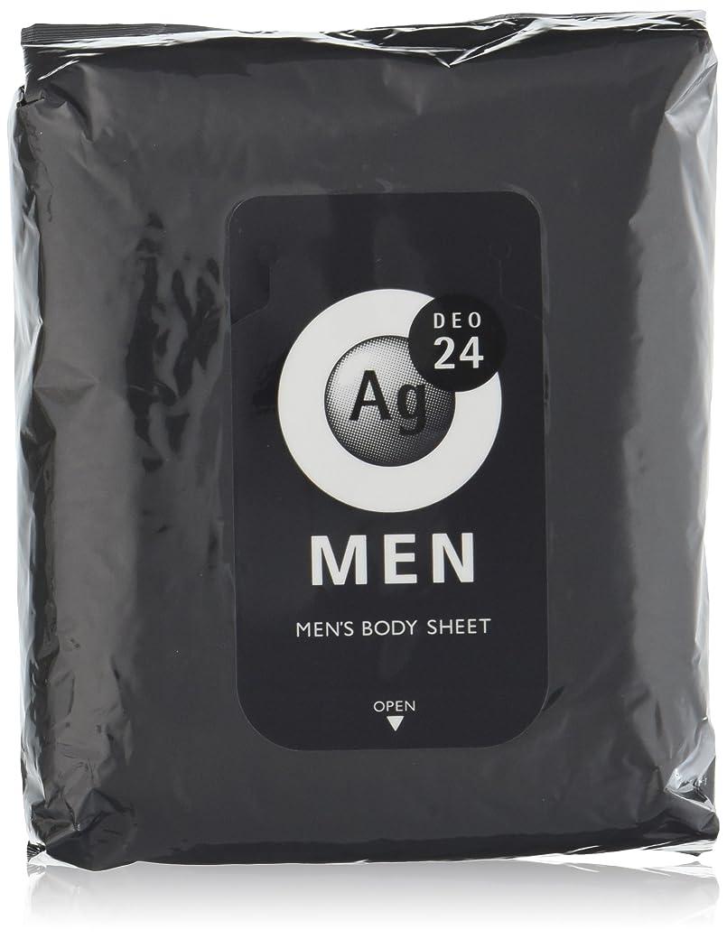 ネーピア協定進化エージーデオ24 メンズ ボディーシート 無香性 30枚