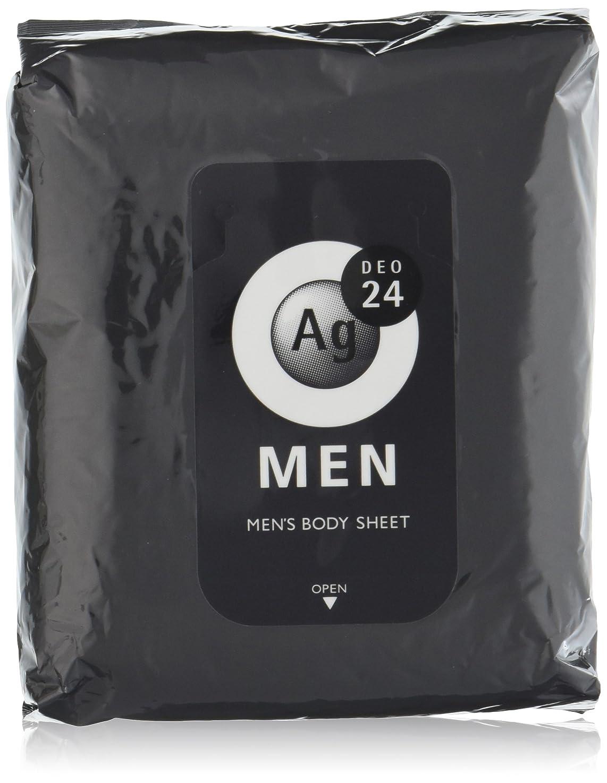 攻撃老人怪しいエージーデオ24 メンズ ボディーシート 無香性 30枚