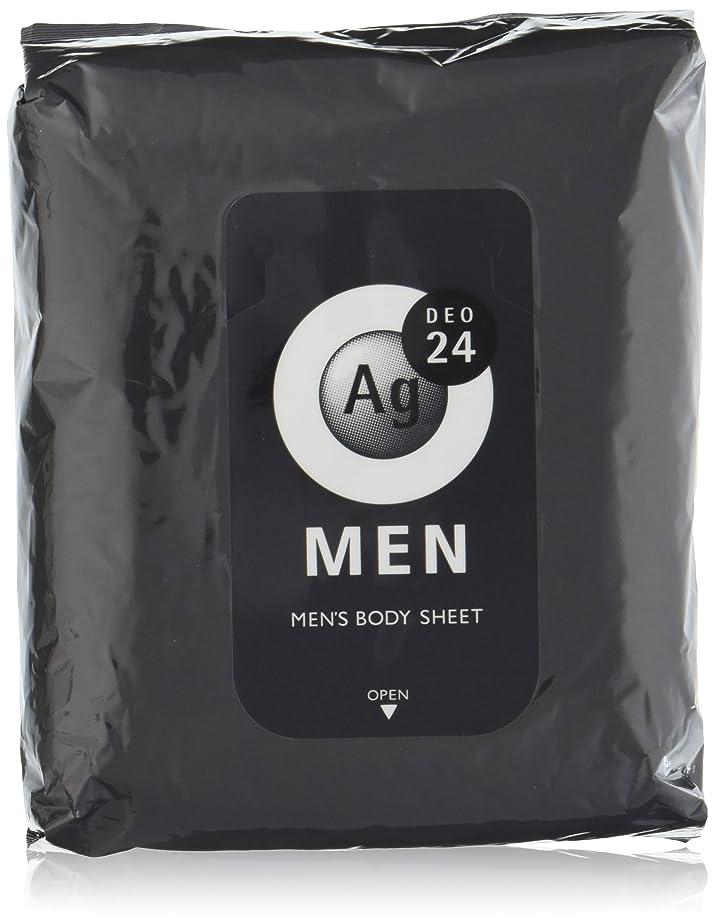 ゲージジャグリング掻くエージーデオ24 メンズ ボディーシート 無香性 30枚