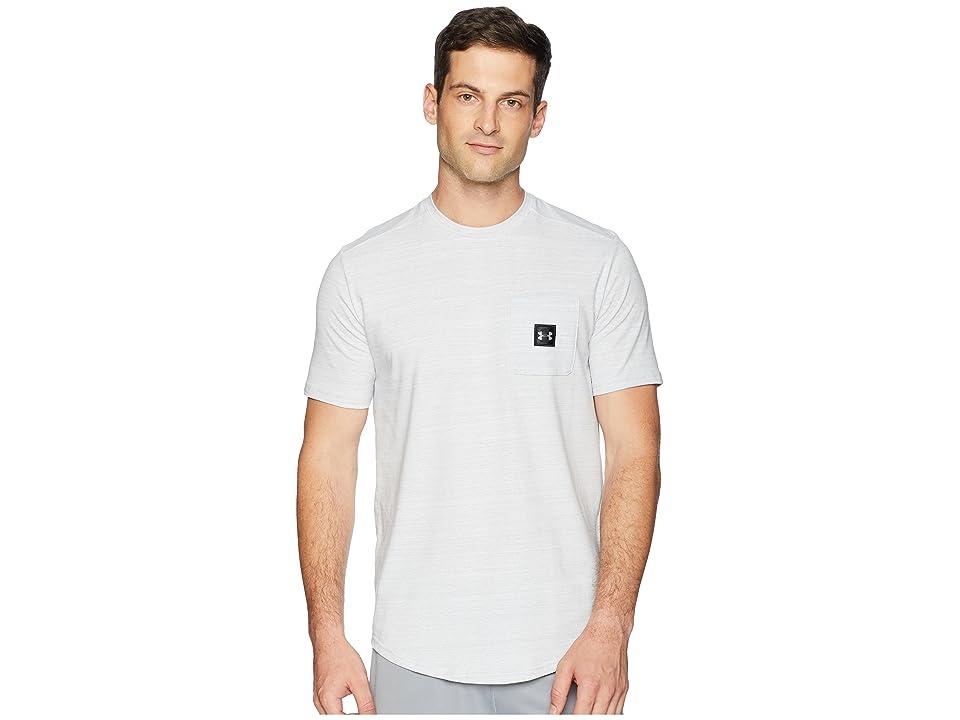 Under Armour Sportstyle Pocket Tee (White/Black) Men